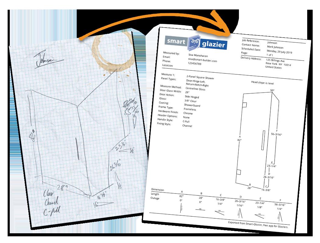 Hand drawn vs PDF